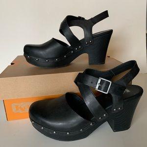 🌟Korks Abloom clog sling back shoes 6.5 🖤